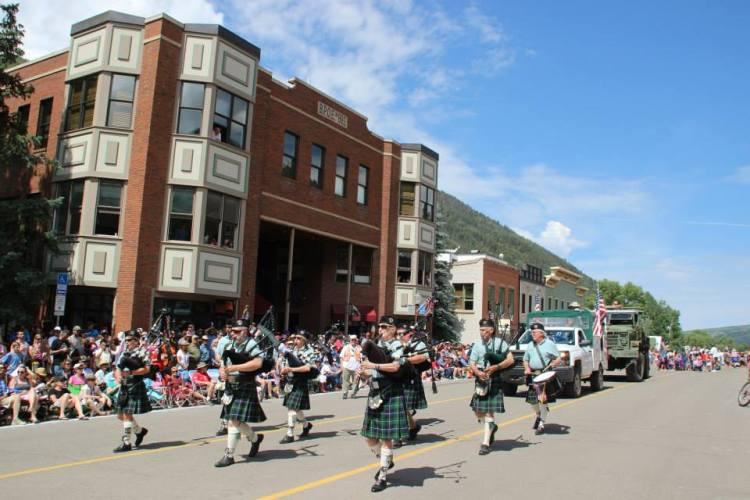 Fourth of July parade, Telluride, Colorado